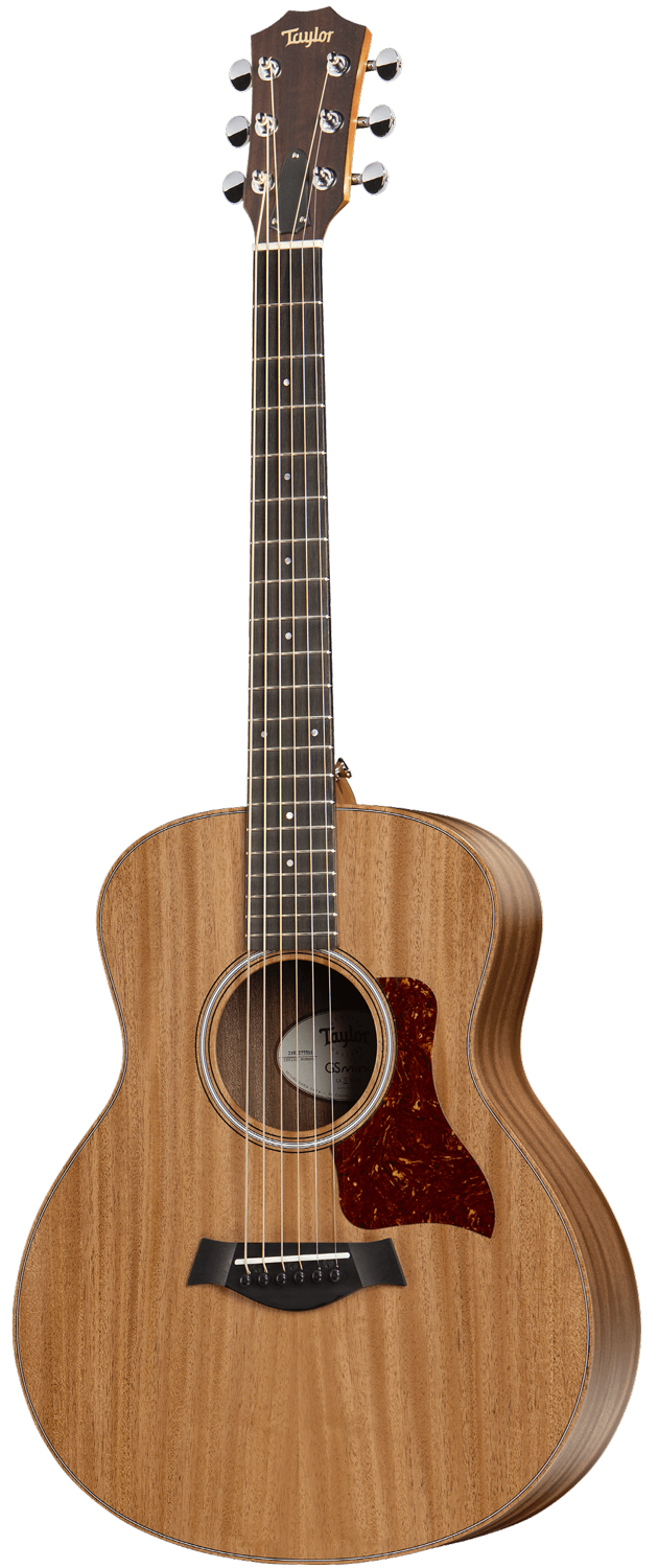 Taylor GS Mini-e Mahogany  электроакустическая гитара, корпус Grand Symphony 3/4, цвет натуральный