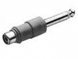 Switchcraft 345A (RCA FEMALE - 1 / 4- MALE) ADAPTER