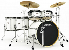 Tama MK52HLZBNS-SGW Superstar Hyper-Drive Maple Sugar White ударная установка из 6-ти барабанов, цвет белый