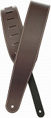 Planet Waves 25LS01-DX Classic Leather Strap With Contrast Stitch Brown ремень гитарный