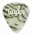 Taylor 80735 Celluloid 351 Picks, Abalone медиатор, 0.71 мм, цвет Abalone